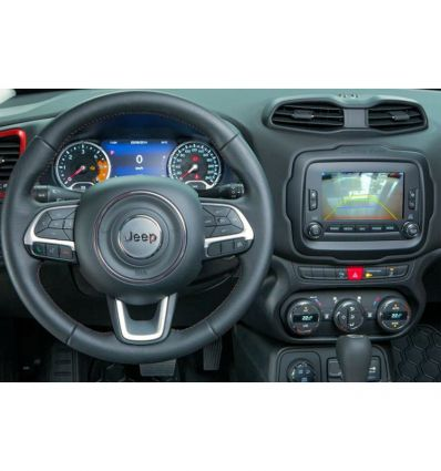 """Jeep Uconnect 6,5"""" front and rear camera inputs video interface"""