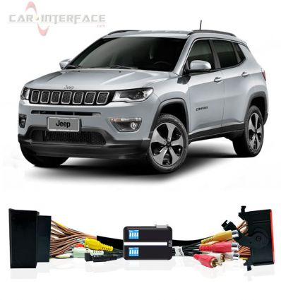 """Jeep Compass MY2017 Uconnect 8,4"""" interfaccia video"""