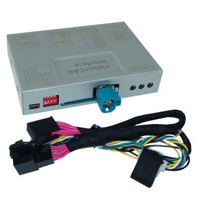 MERCEDES NTG5 Interfaccia telecamera retromarcia e frontale