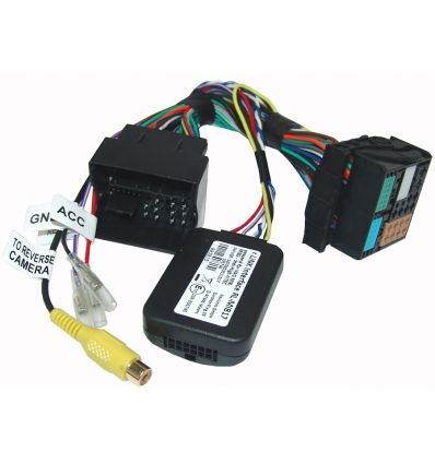 Reverse camera input interface for Volkswagen MIB/MIB2