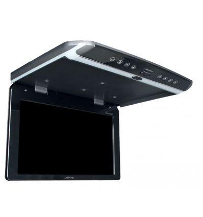 """Monitor montaggio a tetto da 10.1"""", grigio scuro, Full HD, USB, HDMI"""