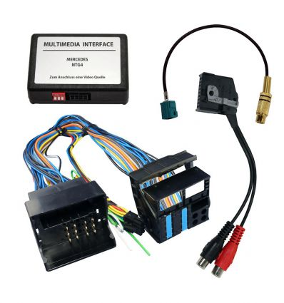 Audio/Video Interface for Mercedes Comand APS NTG4 - 204