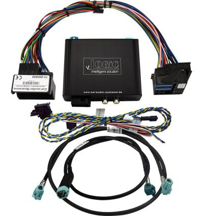 BMW CIC Serie F Interfaccia per telecamera frontale e di retromarcia per sistemi Professional-Business, M-ASK, Radio Champ