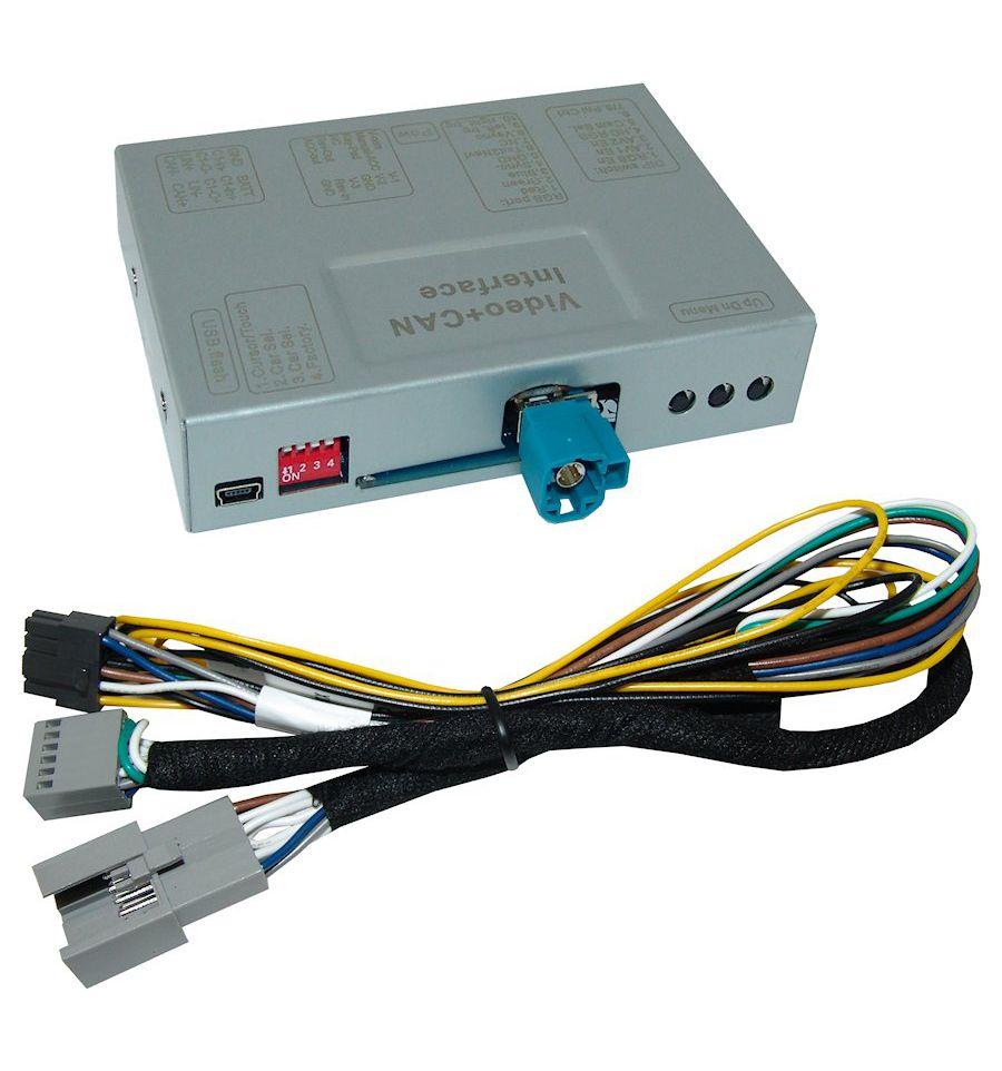 Video Interface For Porsche Pcm 40 Wiring Connectors