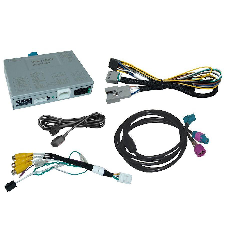 Video interface for Skoda MIB/MIB2 - High/Columbus and  Standard/Bolero/Amundsen