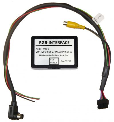 VOLKSWAGEN MFD1 Reverse camera input (A/V input) interface