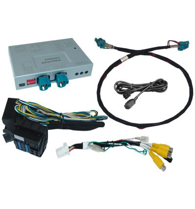 BMW NBT2 (EVO) Video interface with Rear and front camera inputs for NBT2 Business/Professional
