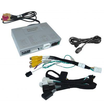 MERCEDES Audio 20 NTG5.5 Interfaccia Video con ingresso telecamera retromarcia e due sorgenti video esterne