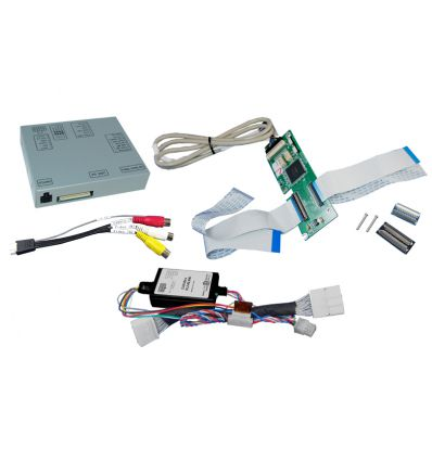 Renault RLINK video interface with Rear and front camera inputs