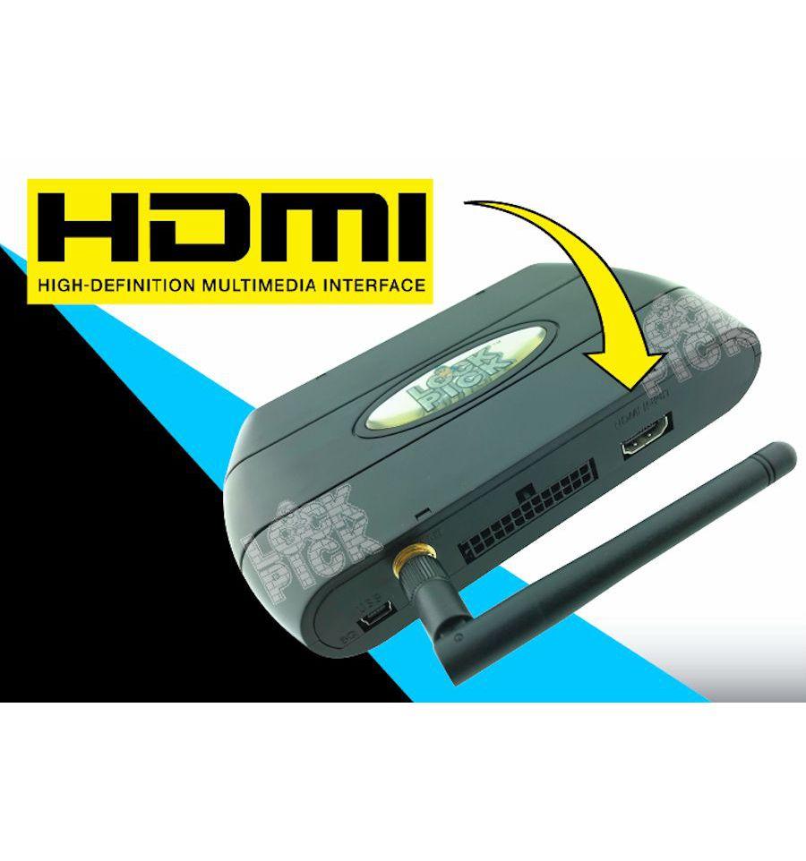 Jeep MyGig Air HDMI WiFi Streaming Lockpick Video Interface