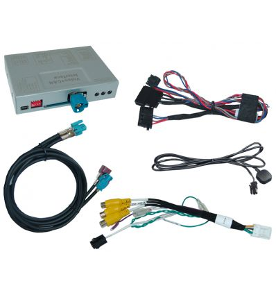 Video interface for BMW Business/Professional CIC-E and CIC F-series, PIP function.