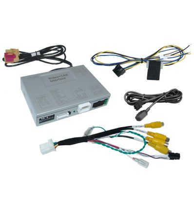 MERCEDES NTG6 - MBUX Comand Online rear and front camera input video interface