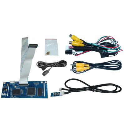 Video interface for Volkswagen with MIB2 Entry - Media System Touch Color
