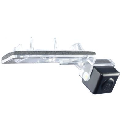 Skoda Rear-view camera exchange number-plate illumination-glass with camera with guide-lines for Skoda Octavia