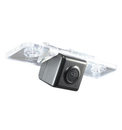 SKODA Octavia 2 Rear-view camera exchange license-plate light, guidelines and warm-white LED