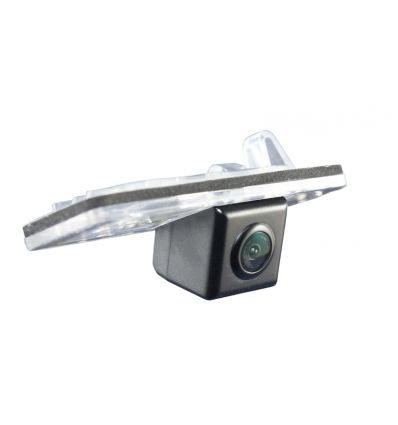 SKODA Superb station wagon Rear-view camera exchange license-plate illumination with guide-lines and warm-white LED