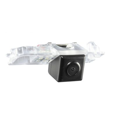 SKODA Superb 2 Rear-view camera exchange license-plate light, guidelines andwarm-white LED