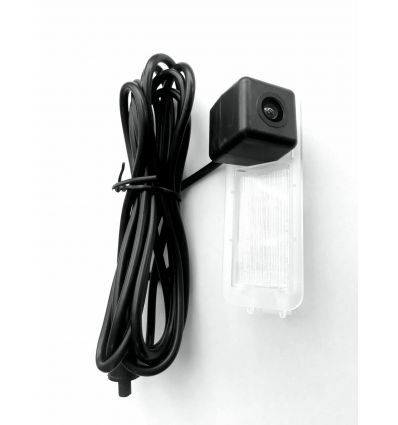 JEEP CI-C8PRO-CAM Rear-view camera exchange license-plate illumination with guide-lines