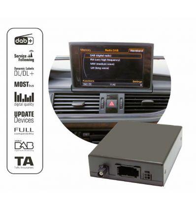 Digital DAB/DAB+ tuner for factory AUDI MMI3G/3G+