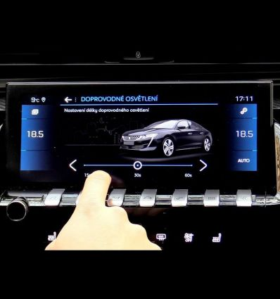 """Video interface for Peugeot NAC 10.25"""" monitor"""