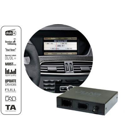 Digital DAB/DAB+ Dual tuner for factory NTG 4.5/4.7 Mercedes