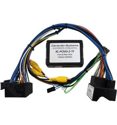 Reverse and front camera input and video-in-motion interface for Porsche PCM 3.0 e 3.1