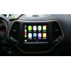 CarPlay and Android Auto integration interface for Uconnect 8.4 inch Jeep