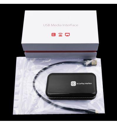Wireless Carplay, WiFi mirroring integration module with USB multimedia player