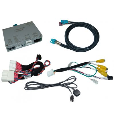 Renault Easy Link video interface with rear and front camera input