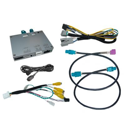 """Video interface with rear camera input for Volkswagen MIB3 10"""""""