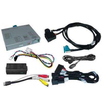 Audi A4 A5 Q5 Concert and Symphony radios video interface with rear-view camera input