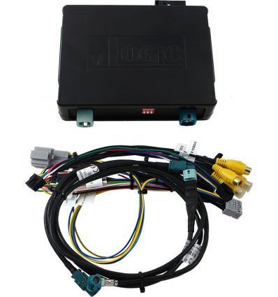 Volkswagen MIB and MIB2 video interface with front, rear and side camera inputs