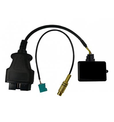 RVC-input activation in Volkswagen Crafter with RSD4000