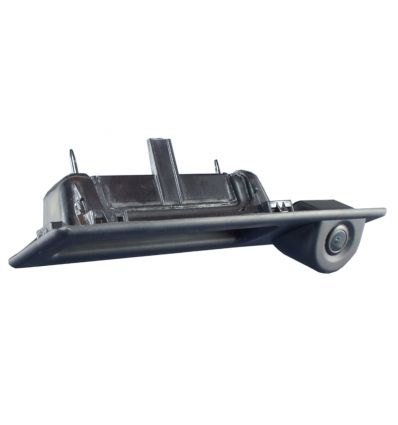 BMW Rear-view camera exchange rear door opener handle with guide-lines for 1-3-5series, X1, X5, X6