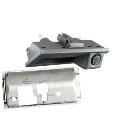 VW Rear-view camera incl holder exchange rear door opener handle with guide-lines for Volkswagen