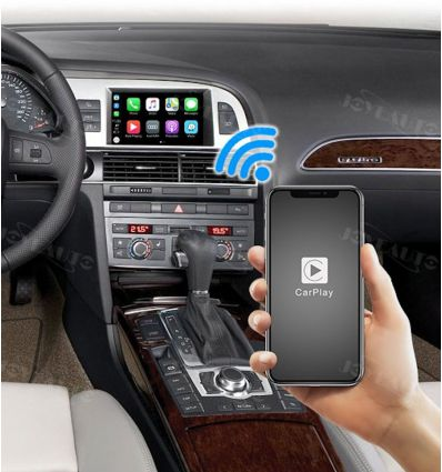 Wireless Apple CarPlay iOS Android Auto Solution interface for Audi MMI2G