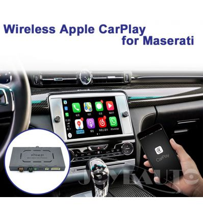 Maserati Quattroporte and Ghibli Wireless Apple CarPlay AirPlay Android Auto Solution