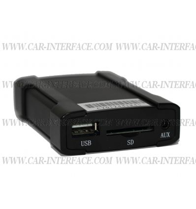Nissan Micra Interface USB/SD/AUX front V8