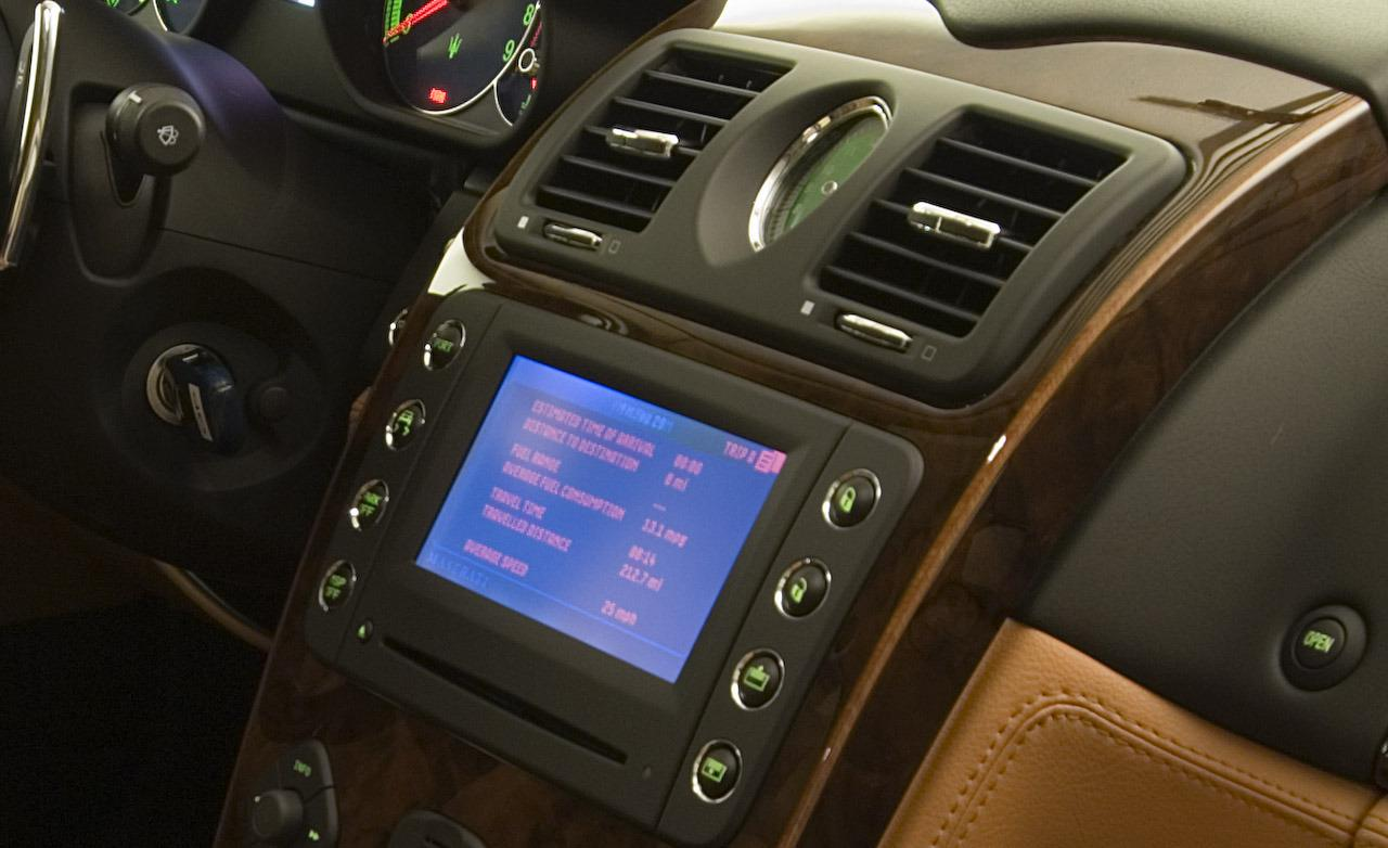 Maserati Quattroporte Navigation