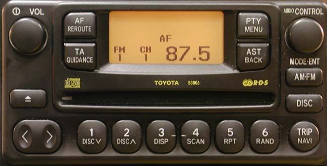 Toyota Big 5 7 Interfaccia Usb Sd Aux Xcarlink