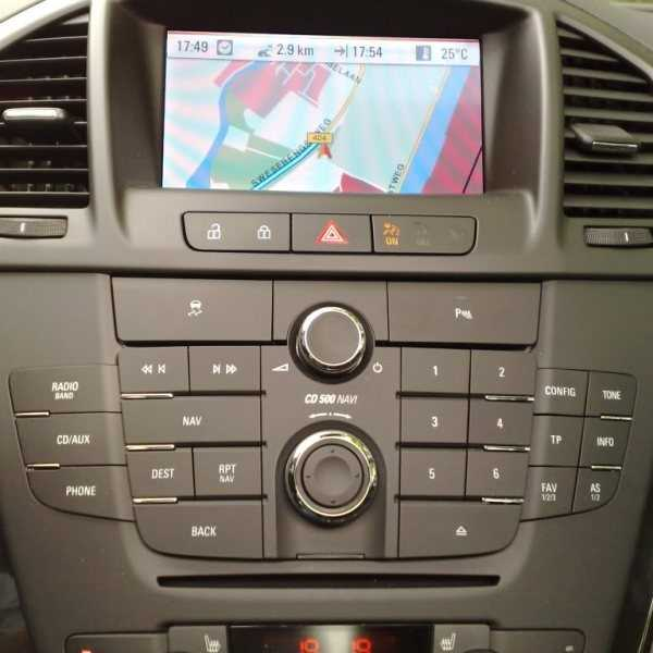 RVC interface for Opel DVD Navi 900, DVD Navi 800, DVD Navi 600, CD500,  CD600 IntelliLink, Navi 950 IntelliLink