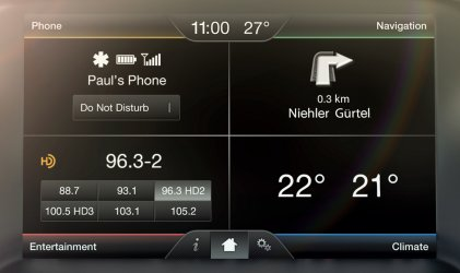 Video interface for Ford SYNC 2 MyFord Touch