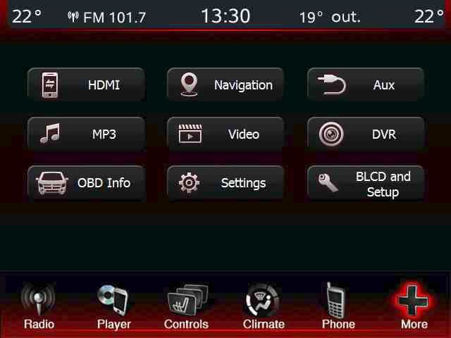 menu fiat freemont gps navigation system upgrade for uconnect 8,4\